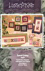 #127 Love Crazy -- counted cross stitch from Lizzie Kate