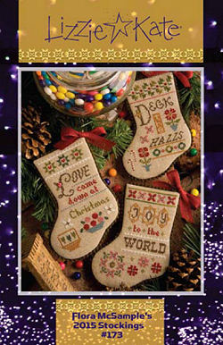 #173 Flora McSample's 2015 Christmas Stockings -- Click to see our finished model