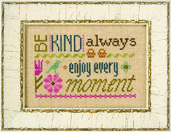 F148 Be Kind Always - 3 Little Words Flip-its model from Lizzie Kate