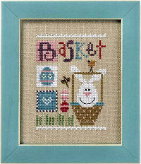 F166 Basket Celebrate with Charm Flip-it from Lizzie Kate