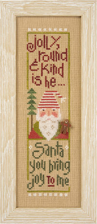 S115 Jolly Round & Kind - Santa '14 Snippet