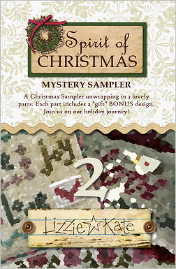 Spirit of Christmas Mystery Sampler PART TWO
