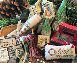 Spirit of Christmas Mystery Sampler Collage