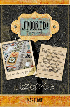 Spooked! Mystery Sampler part 1 cover
