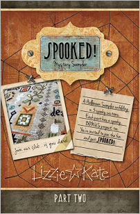 SPOOKED! Mystery Sampler Part 2