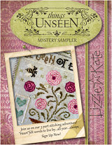 THINGS UNSEEN - Our 2014 Mystery Sampler... click for details!