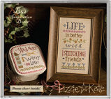 B52 Life is Better with Stitching Friends Inspiration Boxer from Lizzie*Kate - click for more info
