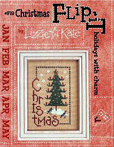 Christmas Flip-It -- counted cross stitch from Lizzie Kate