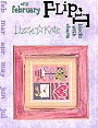 February Blocks Flip-It -- counted cross stitch from Lizzie Kate
