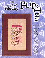 F59 A Bit of February Flip-It Bits -- counted cross stitch from Lizzie Kate