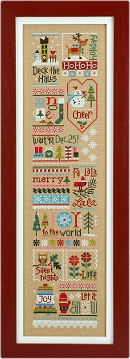 Jingles Series - Click here for the free border pattern