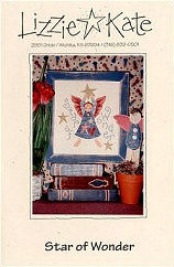 Star of Wonder -- counted cross stitch from Lizzie Kate