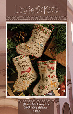 #168 Flora McSample's 2014 Stockings from Lizzie Kate
