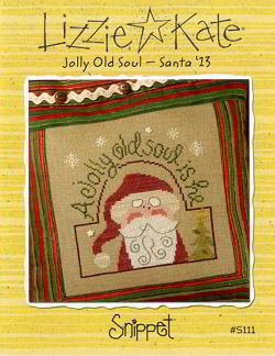 S111 Jolly Old Soul - Santa '13 Snippet -- Click to see our finished model