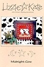 Midnight Cow -- counted cross stitch from Lizzie Kate