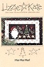 Ho Ho Ho! -- counted cross stitch from Lizzie Kate