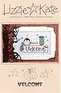 Velcome -- counted cross stitch from Lizzie Kate