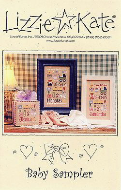 #115 Baby Sampler -- Click to see our finished models