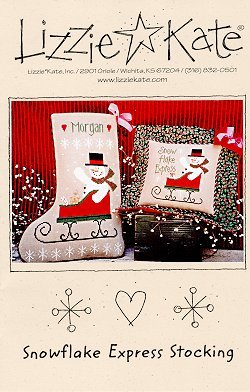 Snowflake Express Stocking -- Click to see our finished model
