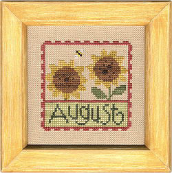 F41 August Stamp Flip-It model from Lizzie Kate