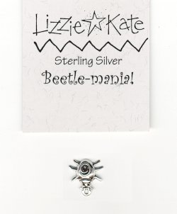 M104 STERLING SILVER BEETLE CHARM