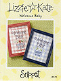 S70 Welcome Baby -- counted cross stitch from Lizzie Kate
