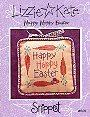 Happy Hoppy Easter -- counted cross stitch from Lizzie Kate