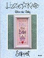 Bless The Baby -- counted cross stitch from Lizzie Kate