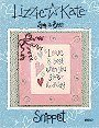 Love is Best -- counted cross stitch from Lizzie Kate