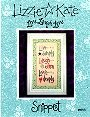 Live Laugh Love -- counted cross stitch from Lizzie Kate