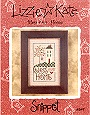 Bless Our Home -- counted cross stitch from Lizzie Kate